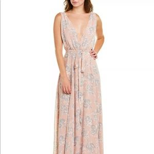 Lovers and Friend Leah Wrap Gown
